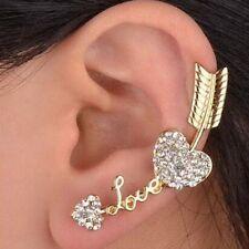 Sale Personality Love Women Gold Lady Arrow Fashion Ear Cuff Ear Clip Earring