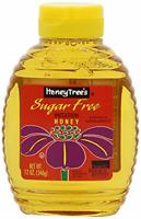 Honey Tree Imitation Honey, Sugar Free, 12-Ounce Bottles Pack of 6, 10581
