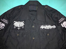 Satanic Warmaster Black Metal Army Shirt Horna Beherit Behexen Archgoat Goatmoon