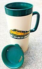 Insulated Mug BNSF Burlington Northern Santa Fe Railway Train Railroad Cup 12 oz