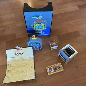 Melissa & Doug Magic Sets- Lot Of 2 (Deluxe And Discovery)