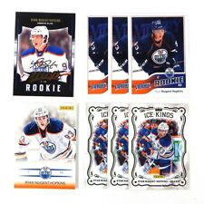 Lot of (8) 2011-12 Ryan Nugent-Hopkins RC's Upper Deck  Victory MVP Ice Kings