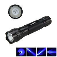 5000Lm WF-501B Blue Q5 LED Tactical Flashlight Torch Light waterproof Lamp