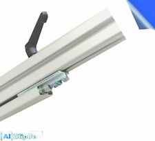 Profilgleiter mit Klemmhebel für 40x40 & 40x80 Nut 8 Aluprofil item kompatibel