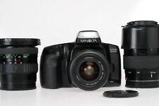 Sony A Mount: 100 - 200 / 4,5 + 19 - 35  / 3,5 + 35 - 70 /  3,5 + Minolta 300si