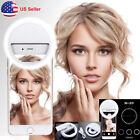 Portable 36 LEDs Selfie Ring Fill Light Clip Mirror Light For Camera Cell Phone