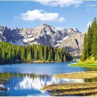 New 3000 pcs pc Puzzle jigsaw Castorland Misurina Lake, Italy C-300198 FREE SHIP