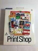 Broderbund The Print Shop software. Version 10 - Windows 95, 98 and NT