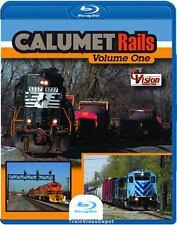 Calumet Rails Volume 1 BLU-RAY NEW South Shore Harvey Junction Illinois Indiana