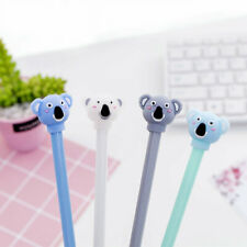 6pcs Cute Cartoon Kawaii Colorful Animal Koala Bear Gel Ink Ball Point Pens gift