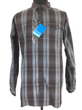 Columbia Mens Omni Wick Advanced Evaporation Button Up Long Sleeve Shirt Size XL