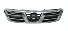 *NEW* TOP FRONT GRILLE (CHROME) for NISSAN PATROL GU Y61 WAGON TI 9/2001- 8/2004