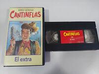 CANTINFLAS MARIO MORENO - EL EXTRA - VHS CINTA TAPE COLECCION RBA