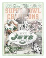 New York Jets - Super Bowl - poster print