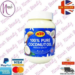 KTC 100% Pure Coconut Oil (Cooking,Hair,Skin Care,Multipurpose)-500ml