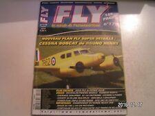 ** Revue Fly International n°179 Plan encarté Aqua File / Graubele 2 Graupner
