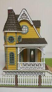 Jasmine 2 Gothic Victorian Cottage 1:48 Scale Dollhouse Kit