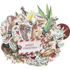 Kaisercraft 'UNDER THE GUM LEAVES' Collectables Die Cut Shapes Xmas KAISER