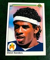 1990 Upper Deck #13 Deion Sanders RC - Yankees