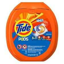 Tide PODS Original Scent HE Turbo Laundry Detergent Pacs, 81 count New