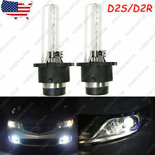 2X White 6000K D2S D2R HID Headlight Low Beam Bulbs Replacement for BMW E60 525i