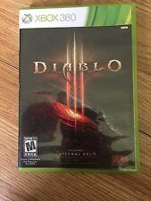 Diablo Iii (Microsoft Xbox 360, 2013) W2