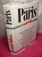 LE GUIDE DE PARIS GAULT MILLAU 1983