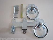 Heavy Duty Quality Door / Gate Latch Zinc Plated 5 yr Guarantee Free P&P