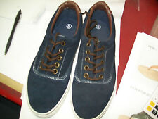 Womens Size 6 Navy Suede Lace Up