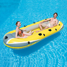Bestway canotto gommone raft lago fiume mare 318 x 152 cm 61066 grigio giallo