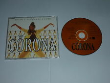 CORONA - I Don't Wanna Be A Star - Deleted 1995 UK 5-track CD single