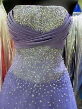 AUTHENTIC TIFFANY DESIGNS LILAC Prom Dress Pageant Ballgown sz 8 $475 NWT #6124