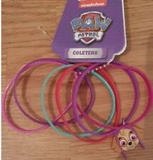 Paw Patrol Bracelet Accessories Ties Girls Gift Clips Band Head Hair Bands Pink