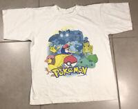 Vintage 1999 Men's Pokemon Gotta Catch Em All Sz S T-Shirt Nintendo pikachu ash