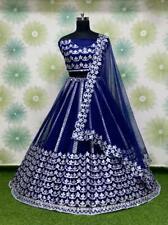 Indio de Diseño Boda Ropa Bollywood Lengha Festival Mujer Vestido Lehenga Choli
