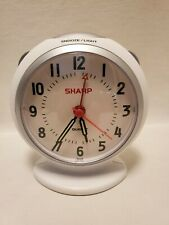 Sharp Analog Travel Battery Alarm Clock