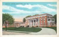 Montgomery, AL Memorial Hospital Postcard unposted