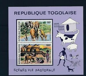 D247190 Rural Landscapes S/S MNH Togo Imperforate