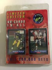 1992 Classic Draft Picks FOOTBALL Complete Set FACTORY SEALED Limited Edition