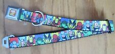 Avengers Marvel Comics Seat Belt Dog Collar Buckle Down Marvel New FACES 0184