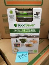 FoodSaver Fresh Containers 10 Piece Set