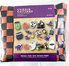 Sunny Side Up Bakery Essentials 20 Piece Halloween Cookie Cutter Set New Sealed