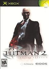 Hitman 2 Silent Assassin Platinum Hits - Xbox TESTED AND CLEANED