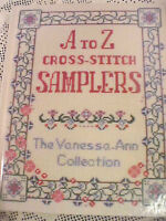 A to Z Cross-Stitch Samplers The Vanessa-Ann Collection by Jo Packham 26 Designs