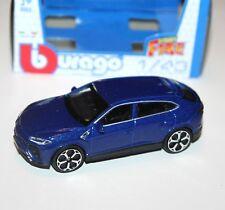Burago - LAMBORGHINI URUS (Blue) - 'Street Fire' Model 1:43