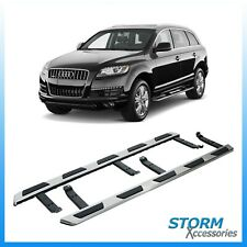 OEM STYLE STX SIDE STEPS-  RUNNING BOARDS - PAIR FOR AUDI Q7 2007-2015
