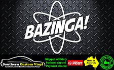 Bazinga Car Window Sticker Decal