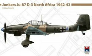 HOBBY 2000 #48003 Junkers Ju-87D-3 North Africa 1942-43 in 1:48