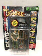 "GI JOE 4"" HASBRO 1994 COMMANDO SGT SAVAGE action figure W/Video Tape"