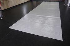 2,6€/m² PVC Folie Abdeckplane LKW Plane 7,30m x 2,25m ca.570g/qm hgrau ohne Ösen
